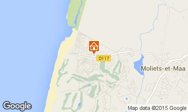 Mappa Moliets Casa mobile 25142