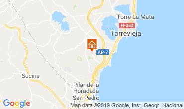 Mappa Torrevieja Villa  104261