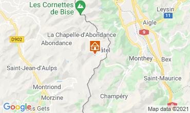 Mappa Châtel Appartamento 59899