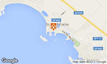 Mappa Porto Cesareo Appartamento 100566