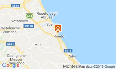 Mappa Pineto Appartamento 109523