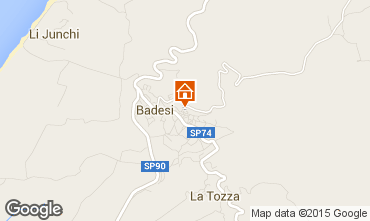 Mappa Badesi Appartamento 33840