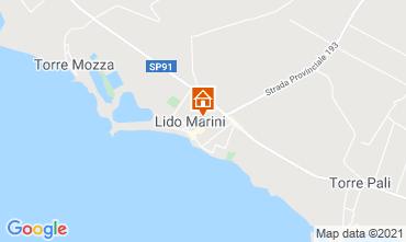 Mappa Lido Marini Casa 85090