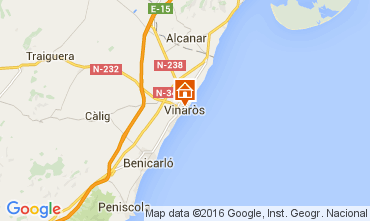 Mappa Vinaròs Appartamento 96657