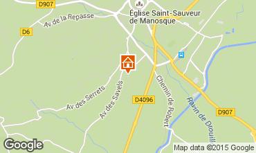 Mappa Manosque Casa 93506