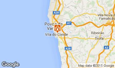 Mappa Vila do Conde Appartamento 75568