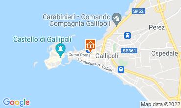 Mappa Gallipoli Appartamento 94154