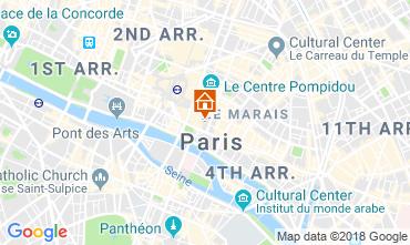 Mappa PARIGI Appartamento 115578