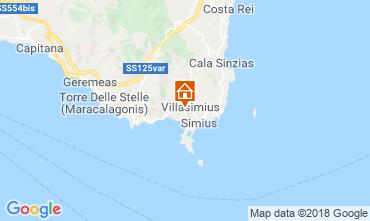 Mappa Costa Rei Appartamento 117111