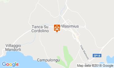 Mappa Villasimius Appartamento 117111