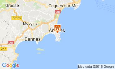 Mappa Juan les Pins Appartamento 113037