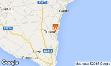 Mappa Tricase Villa  98089