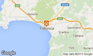 Mappa Follonica Appartamento 76470