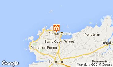 Mappa Perros-Guirec Appartamento 7430