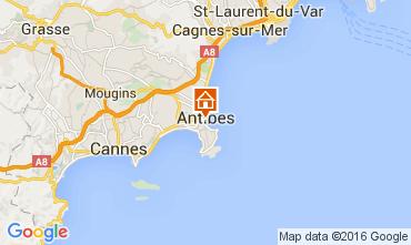 Mappa Antibes Monolocale 105768
