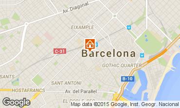 Mappa Barcellona Appartamento 74649