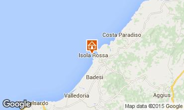 Mappa Isola Rossa Appartamento 85297