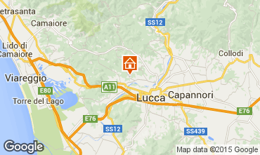 Mappa Lucca Appartamento 76139