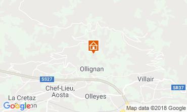 Mappa Aosta Appartamento 116508