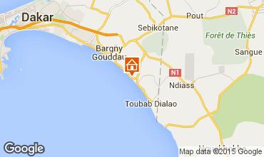 Mappa Toubab Dialaw Villa  65531
