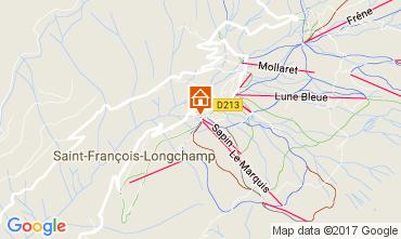 Mappa Saint François Longchamp Appartamento 112015