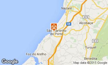 Mappa São Martinho do Porto Appartamento 98974