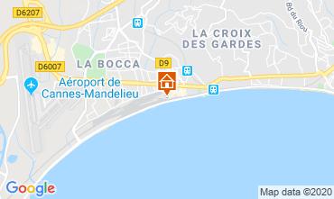 Mappa Cannes Appartamento 119499