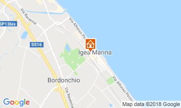 Mappa Bellaria Igea Marina Appartamento 82159