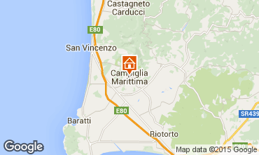 Mappa Campiglia Marittima Appartamento 98871