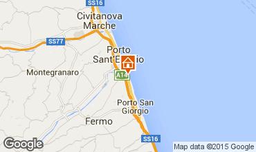 Mappa Porto San Giorgio Bungalow 85039