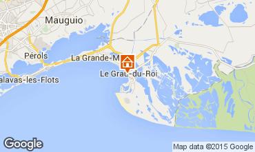 Mappa Le Grau du Roi Appartamento 49512