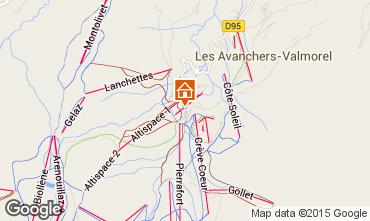 Mappa Valmorel Appartamento 17117