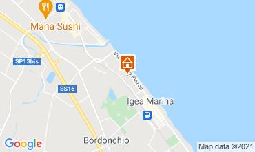 Mappa Bellaria Igea Marina Appartamento 107978