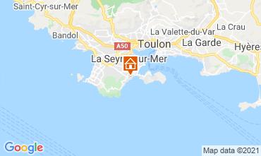 Mappa Six Fours Les Plages Villa  96805