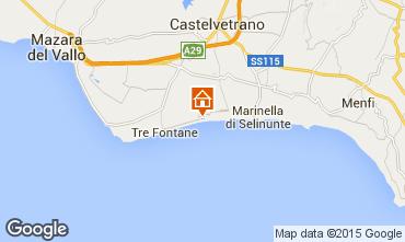 Mappa Castelvetrano Selinunte Appartamento 72765