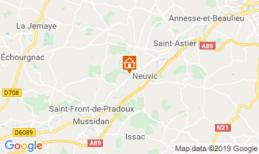 Mappa Périgueux Agriturismo 99472