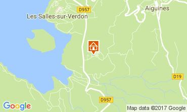 Mappa Aiguines Casa mobile 110489