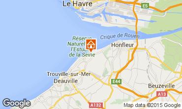 Mappa Honfleur Casa 7704