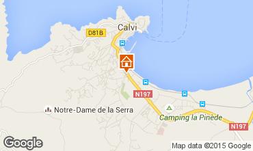 Mappa Calvi Monolocale 93989