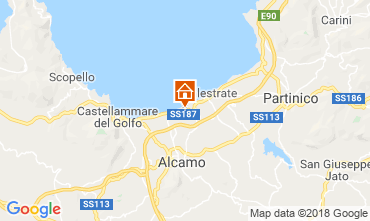 Mappa Alcamo Marina Villa  117087