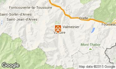 Mappa Valloire Appartamento 92317
