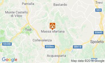 Mappa Todi Appartamento 116547