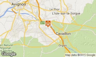 Mappa Avignone Casa 100030
