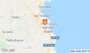 Mappa Budoni Villa  92714