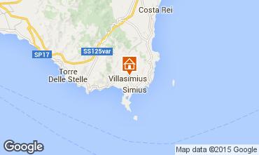 Mappa Villasimius Appartamento 95140