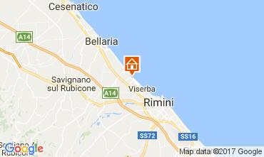 Mappa Rimini Appartamento 102906