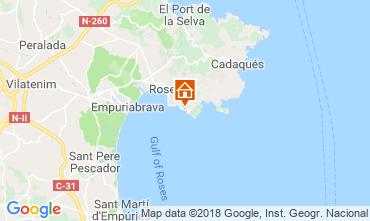 Mappa Rosas Casa 117495