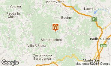 Mappa Siena Agriturismo 84892