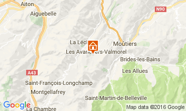 Mappa Valmorel Appartamento 66547