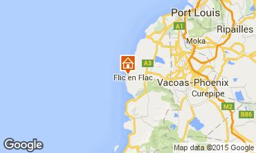 Mappa Flic-en-Flac Bungalow 69426